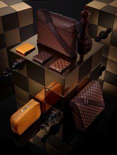 Louis Vuitton Spring Damier line for Men