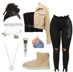 Best Picture For chill outfits going out For Your Taste You are looking for something, and it is goi Swag Outfits For Girls, Boujee Outfits, Cute Comfy Outfits, Teenage Girl Outfits, Cute Outfits For School, Chill Outfits, Polyvore Outfits, Cute Casual Outfits, Teen Fashion Outfits