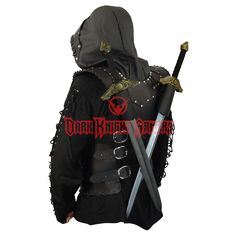 Dark Rogue Leather Armor - DK5009 from Dark Knight Armoury