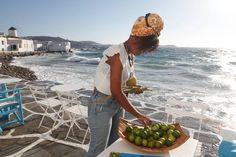 Caprice of Mykonos Greece Travel, Greece Trip, Rice Bar, Mykonos, Cool Bars, Event Planning, Venice, Colours, Sunset