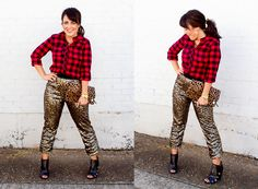 plaid + sequins = the unexpected » Tollie Knows