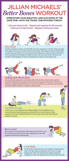 A Workout for Your Bones