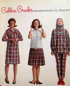 Bobbie Brooks, Seventeen March 1965 with Susan Van Wyck 1960s Fashion, Uk Fashion, Fashion History, Vintage Fashion, Patti Hansen, Lauren Hutton, Boho Outfits, Vintage Outfits, Vintage Clothing