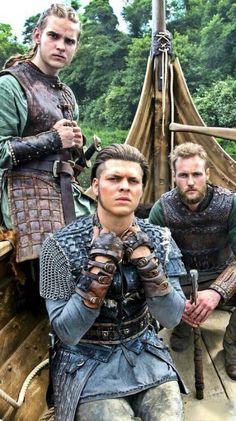 Ivar, Ubbe & Vitserk #vikings