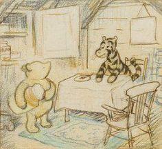 E. H. Shepard - Winnie the Pooh