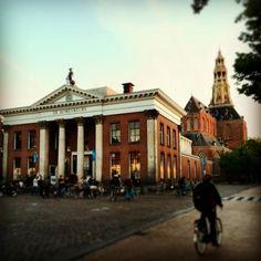 Vismarkt - Groningen, The Netherlands.  [ Korenbeurs Der Aa-Kerk ]