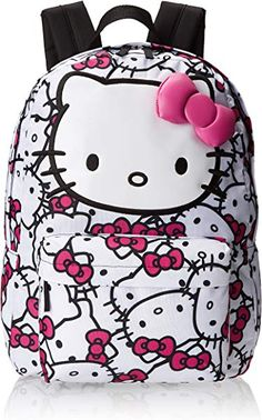 Hello Kitty Backpack, Fuchsia/White, One Size and like OMG! get some yourself some pawtastic adorable cat apparel! Hello Kitty Bedroom, Hello Kitty House, Hello Kitty Bag, Hello Kitty Items, Sanrio Hello Kitty, Hello Kitty Backpacks, Hello Kitty Accessories, Hello Kitty Collection, Sanrio Characters