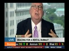 Anthony Sanders Discusses the Rental Bubble on Bloomberg