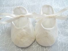 17 Best My Hand Made Vintage Linen Baby Shoes Images Baby Boy