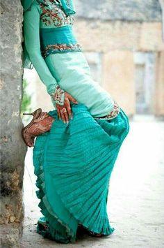 Boho Style Earrings Blue and Green Gypsy Earrings by BohoStyleMe
