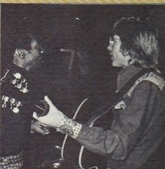 Photo from 1975 tour book... John and his drummer Herb Lovell
