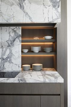 My Style: Modern but not cold or avant-garde. I focus on the details and unexpected contrasts over bold statements. I wanted to reflect the urban environment this city house is in with tailored and elegant items that weren't too casual. Interior Design Trends, Contemporary Interior Design, Modern Interior, Modern Decor, Contemporary Kitchens, Modern Kitchens, Contemporary Bedroom, Best Kitchen Designs, Modern Kitchen Design