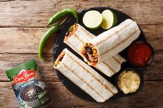 How do you celebrate National Burrito Day at home? We recommend grabbing a can of Casa Fiesta Black Beans and making this easy, flavorful Beef Burrito recipe! Beef Burrito Recipe, Cup Of Rice, Pepper Jack Cheese, Thing 1, Sirloin Steaks, Baked Beans, Burritos, Black Beans, Meals