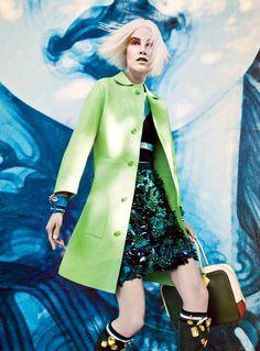 nice Vogue US Março 2014   Joan Smalls e Suvi Koponen por Craig McDean  [Editorial]