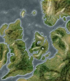 Doggerland very slowly sank beneath the waves, eventually all the was left was Dogger Island
