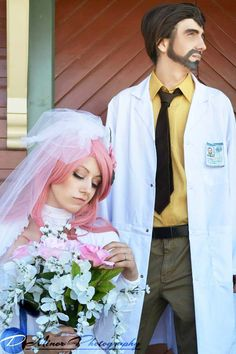 Kreiger and his virtual girlfriend (from Archer) #FX #Cosplay