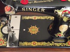 This has got to be my favorite decal set! Singer 128K.