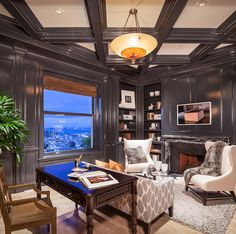 Home Office - TRADITIONAL & TRANSITIONAL