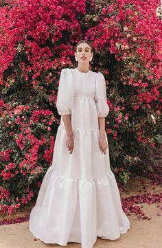 Dress Caterina by Cherubina Stunning Dresses, Cute Dresses, Vintage Dresses, Prom Dresses, Bridal Gowns, Wedding Gowns, Muslimah Wedding Dress, Gowns With Sleeves, Yes To The Dress