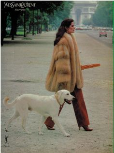 1982 YvesSaintLaurent Fur $(KGrHqZ,!rIFF0LUFzzMBRddyWRUZQ~~60_57.JPG 1,193×1,600 pixels