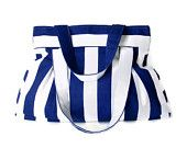 NEW ,blue and white striped bag,everyday bag,usefull purse,shoulder bag,gift idea,spring,summer,for her,by Seno