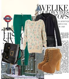 """""""When it's cold and there's no one.."""" by yuval135 ❤ liked on Polyvore"""