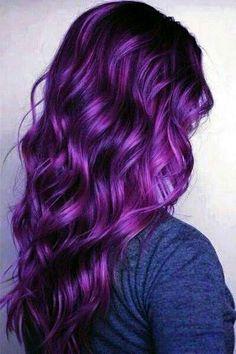 25 cute plum hair color ideas new best hairstyle Purple Hair color cute hair hairstyle Ideas PLUM Pastel Purple Hair, Plum Hair, Hair Color Purple, Cool Hair Color, Purple Style, Purple Hair Highlights, Black To Purple Hair, Purple Hair Styles, Putple Hair