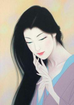 Kai Fine Art is an art website, shows painting and illustration works all over the world. Love Illustration, Character Illustration, Kumamoto, Geisha Art, Korean Art, Japan Art, Japanese Artists, Traditional Art, Female Art