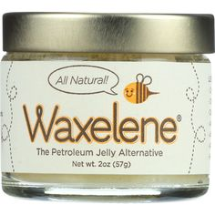 Waxelene Petroleum Jelly Alternative - 2 oz - 1 each - Waxelene is the petroleum jelly alternative.NO petroleum. Only natural & organic ingredients.Moisturize, protect, and soothe skin all in one!Waxelene is revolutionizing skin care. It creates the same waterproof barrier that doctors recommend petroleum jelly for but contains no petroleum or hydrogenated oil. Instead we use our patented aeration process that won't clog pores and makes Waxelene highly effective for any kind of dry skin. Not…