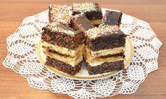 Makowiec z masą kokosową Tiramisu, Cereal, Cheesecake, Food And Drink, Menu, Breakfast, Ethnic Recipes, Cooking, Menu Board Design
