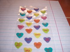 3-D Puffy Heart Stickers