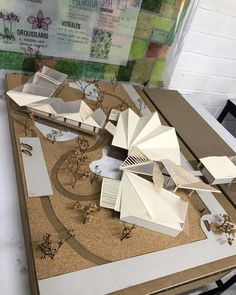 Wooden Architecture Models To see more Visit ? Conceptual Model Architecture, Folding Architecture, Architecture Model Making, Wooden Architecture, Conceptual Design, Futuristic Architecture, Architecture Design, Architectural Engineering, Arch Model