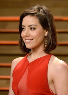 Aubrey Plaza, American actress.