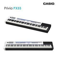 O Privia PRO PX-5S pode ser usado como um instrumento principal para controlar os timbres e configurações de instrumentos MIDI conectados externamente.