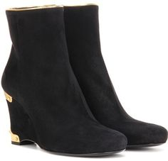 8b7002299c21 Prada Suede Wedge Ankle Boots ON SALE  Was  1100.00 Reduced to   660.00 40%  OFF