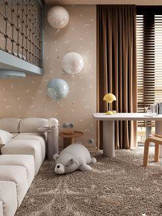 Kids Bedroom Designs, Kids Room Design, Home Room Design, Home Design Plans, Home Decor Bedroom, Room Decor, Cozy Small Bedrooms, Simple Living Room, Interiores Design