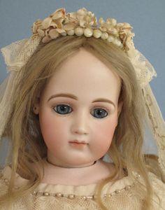 Provenance Antique Dolls - Jumeau Portrait Wedding Doll