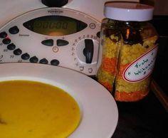 Rezept Linsen-Curry-Suppe als Geschenk im Glas von mila-superstar - Rezept der Kategorie Suppen