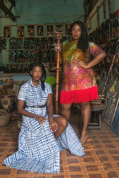 Ghana Travel, Ghana Style, African Fashion, African Style, African Print Clothing, Her Style, I Dress, Two By Two, The Past