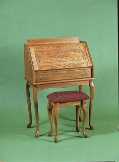 Amish Secretary Desk