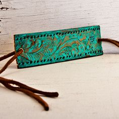 Turquoise cuff- um yah totally DIYing this mofo!