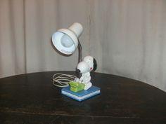 Vintage Snoopy Lamp