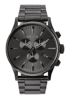 Nixon Mens Watch Sentry Chrono