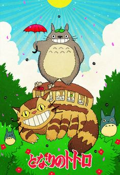 My Neighbor Totoro by cheshirecatart on deviantART