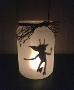 Harry Potter Cornish Pixie Fairy Light Candle Holder