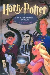 Harry Potter and the Goblet of Fire by J. K. Rowling, the Finnish cover by Mika Launis