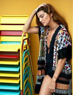 Bianca Brandolini by Sonia Sieff for Madame Figaro France June 2015