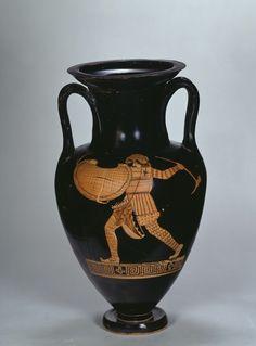 Attic amphora - 460 BC. © Foto: Antikensammlung der Staatlichen Museen zu Berlin - Preußischer Kulturbesitz