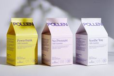 Pollen is a new approach to wellness and CBD. Creating quality CBD products you can trust, made to fit into your lifestyle and help you feel your kind of good. Brand Style Guide, Packaging Design, Product Packaging, Business Branding, Fashion Branding, Style Guides, Innovation, How Are You Feeling, Creative