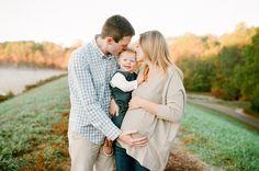 film sunrise maternity session | Lauren Jolly Photography | family